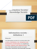 1 - Information Society