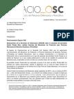 Posicionamiento de Espacio OSC sobre atención del Mecanismo de Protección en el asesinato de Cecilio Pineda