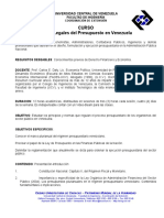 Bases Legales Del Presupuesto en Venezuela (12h) (1)