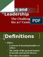 Moral Leadership