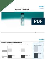 Motor Controllers for Servo Motors CMMP-As