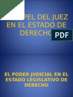 El Papel Del Juez en El Estado de Derecho2