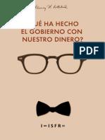 Murray Rothbard - Que ha hecho el gobierno con nuestro dinero.pdf