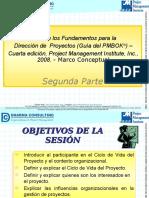 Guía de Los Fundamentos Para La Dirección de Proyectos (PMBOK) 4ta Edición 2da Parte