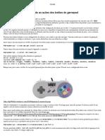 Advance Menu – Modificando as Ações Dos Botões Do Gamepad