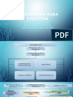 Organigrama Rama Ejecutiva