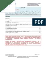 Previdenciário - Resumo Introdutório