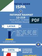 Ppt Status Ujian Fatimah