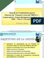 Guía de Los Fundamentos Para La Dirección de Proyectos (PMBOK) 4ta Edición 1era Parte