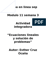 Cruz Ocaña Esther M11S3 AI6 Ecuacioneslinealesysolución de Problemas