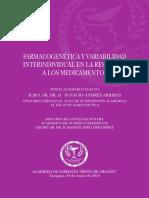 Libro Farmacogenetica