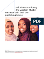 Three Somali Sisters Are Trying to Change the Western Muslim Narrative With Their Own Publishing House