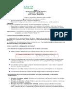 Guia N° 2, quimica Inorganica& Organica