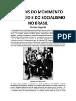 Origens Do Socialismo e Do Movimento Operario No Brasil
