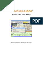 Bb 2004 Manual