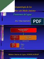 3. Fisiopatología de Los Disturbios Del Medio Interno Trastornos Del Agua