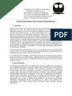 Reporte Práctica #10 (Q. Orgánica I)