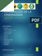Exploración de La Embarazada. Dra. ARAGÓN I.