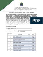 RESULTADO DE SELEÇÃO DE BOLSISTAS_mestrado 2017