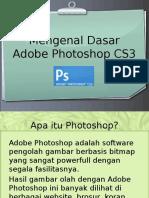 Mengenal Photoshop CS3 oleh Riska