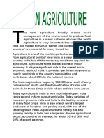 Indian Agriculture