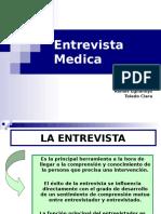 Entrevista Medica,Relacion Medicopaciente y Tecnicas Psicoterapeutas.