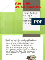 Pirateria Software Latinoamerica
