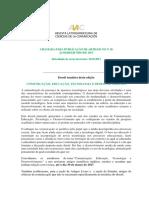 ALAIC 26 - Convocatória Português