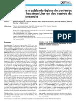 Cliinica y Epidemioloia de C. H.
