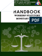 DOLE Handbook on Workers' Statutory Monetary Benefits
