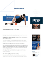 Stop the Endless Foam Rolling & Cardio to Warm-Up! _ DrJohnRusin