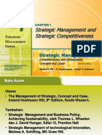 Pertemuan 1 Pengantar Manajemen Strategi