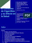 El Consumo de Cigarrillos y Su Efecto en La Salud
