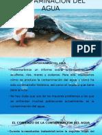 Presentación Contaminación Del Agua