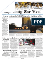 The Daily Tar Heel for March 9, 2017