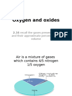 Oxygen and Oxides