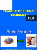 Lecture - 9 & 10 Injection Moulding