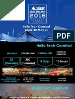 Attachment 1 Hello Tech Carnival Introduction