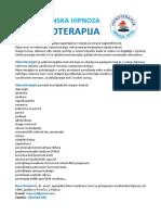 Medicinska Hipnoza i Hipnoterapija Porec Pazin Deplijan 170308
