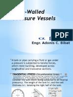 Thin-Walled Pressure Vessels