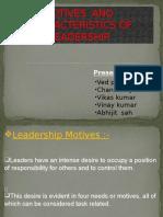 motivesandcharacteristicsofleadership