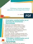 Enfoques y Teorías Psicológicas Aplicadas a La Psicología