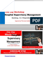 Hospital Suvervisor Manajemen