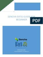 eBook Sencha ExtJS - Bahasa Indonesia | Irfan Maulana