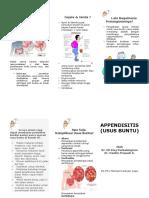 Appendisitis Leaflet