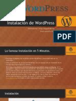 Instalacion Wordpress. Realizado por Sergio Delgado y Omar Garrocho