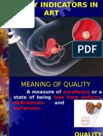 Quality Indicators in Art - Padmapriya