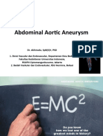 Aneurysm and Vascular Malformation