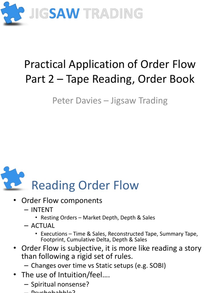 PracticalApplicationOfOrderFlow-Pt2 pdf | Business