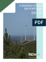 A Energia Eólica Em Portugal - 2012